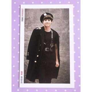 BTS 'The Red Bullet' V #3 Postcard