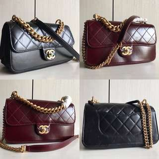Chanel Iridescent Calfskin (Just look at the price without looking at quality.Please bypass,Tq)