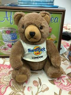 Hard Rock Cafe London Teddy Bear Original