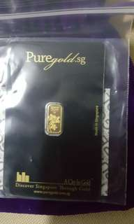 1g pure gold