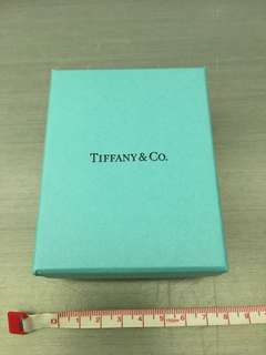 Tiffany gift box with original padding