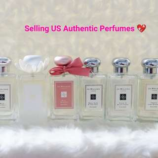 Jo Malone US Authentic Tester Perfumes