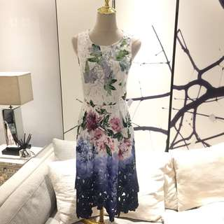 Phase eight elegant floral Dress