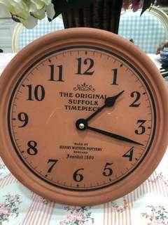 Jam Dinding Henry Watson Terracotta
