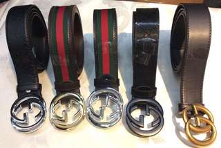 Unisex Branded Belt