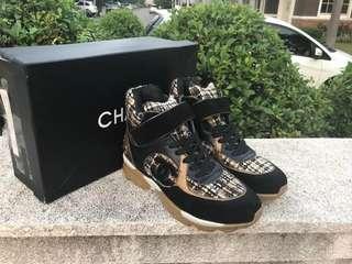 Sepatu Chanel Sneaker Wanita Mirror Quality