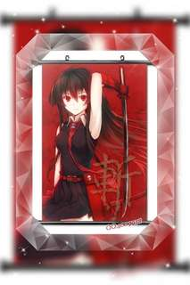 "(Ready Stock) Anime ""Akame Ga Kill"" Wall Scrolls"