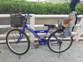 Bicycle With password locker