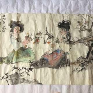画家程十发 Chinese painting