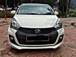 SAMBUNG BAYAR/CONTINUE LOAN  PERODUA MYVI 1.5 SE AUTO YEAR 2017 MONTHLY RM 690 BALANCE 8 YEARS ROADTAX VALID MILEAGE LOW TIPTOP CONDITION  DP KLIK wasap.my/60133524312/myvise