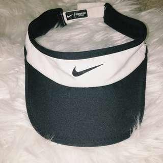 Nike Visor in Black and White -- Brand New
