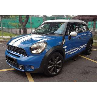 2013 Mini Countryman S 1.6 (A) LOCAL SPEC