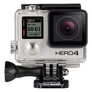 Gopro hero 4 and all accessories you can think of