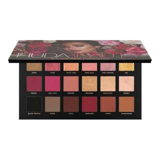 Ready Stock Huda Beauty Rose Gold Remastered Palette