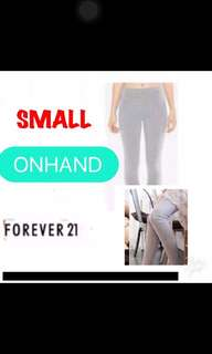 Forever 21 Overruns Leggings Small