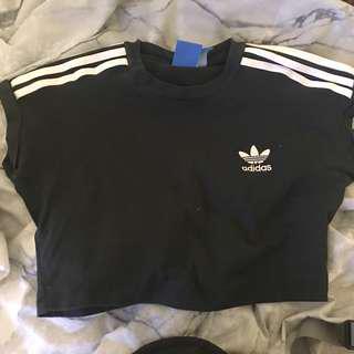 Adidas Crop Top Tee