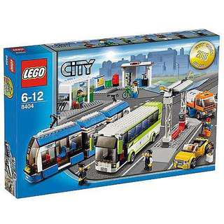 Retired Lego 8404 Public Transport Station Mint in Sealed Box (MISB)