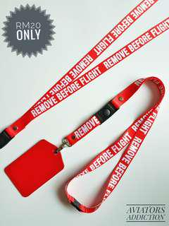 Lanyard REMOVE BEFORE FLIGHT for sale