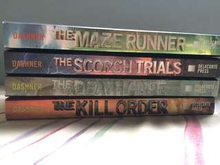 The Maze Runner Series - James Dashner Box Set