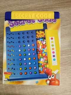 Secret Code Board Game