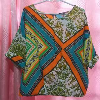 Printed Top (Free Size)