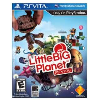 PSVITA Little big planet