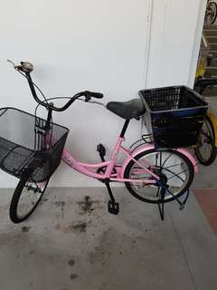 Pink bicycle(nego)