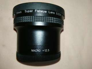 FISH EYE AND MACRO LENS