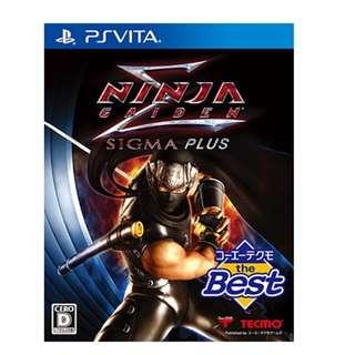 PSVITA Ninja Gaiden Sigma Plus