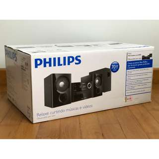 Philips Micro Music HiFi System with Subwoofer - MCD 1165
