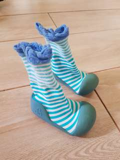 Baby Sock and Shoe in 1
