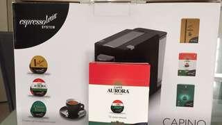 Espressotoria Coffee Machine + Aurora Caffe pods