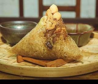 粽子 潮州咸肉粽 雙拼 糭