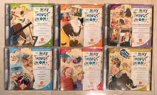 Set of 6 Discover Science CDs - The Way Things Work