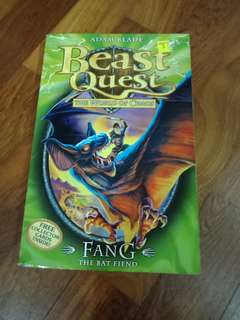 Beast Quest Fang The Bat Fiend