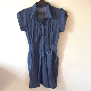 Dress Jeans biru tua / navy / dark blue