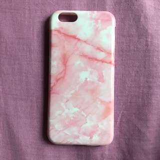 pink marble iphone 6s case