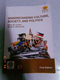 🌸SHS BOOK: UNDERSTANDING CULTURE🌸