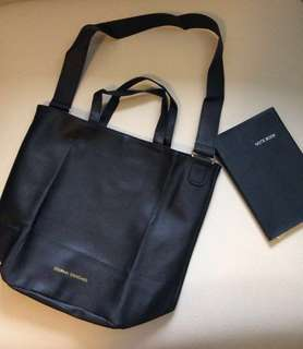 🇯🇵Journal Standard Two Way Tote Bag and PU Leather Notebook from Japan