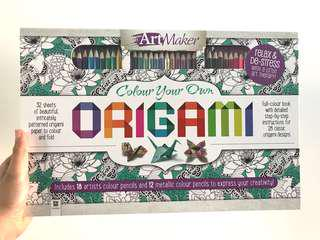 Origami and Colouring