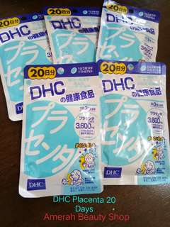 DHC Placenta 20 days supply