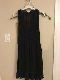 Aritzia Wilfred Silk dress xs Black