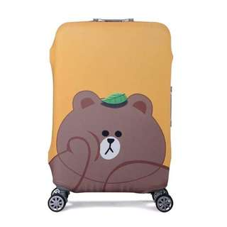 Travel luggage protective cover