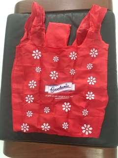 Brand new 2 red gardenia reusable bags