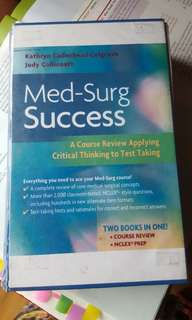 MED-SURG SUCCESS CRITICAL THINKING TO TEST TAKING
