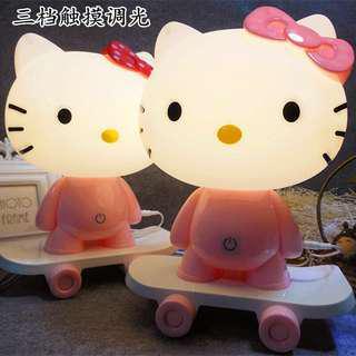 Hello kitty table light