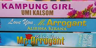 Mr Arrogant Versus Kampung Girl