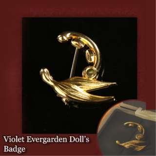Violet Evergarden Doll's Badge