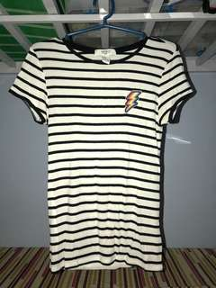 Stripes Bodycon Shirt