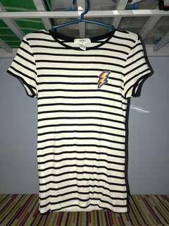 Stripes Bodycon Shirt